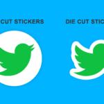 kiss cut stickers vs die cut stickers